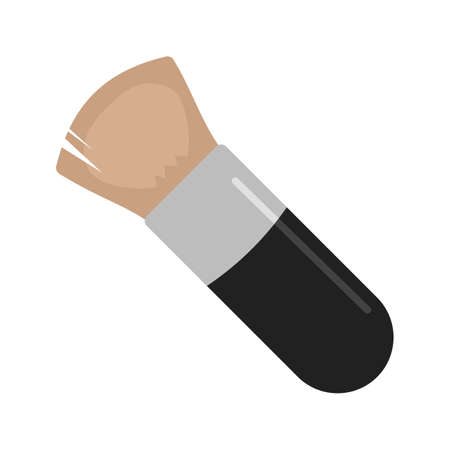 blush: Blush, makeup, woman icon vector image. Can also be used for makeup and accessories. Suitable for web apps, mobile apps and print media.