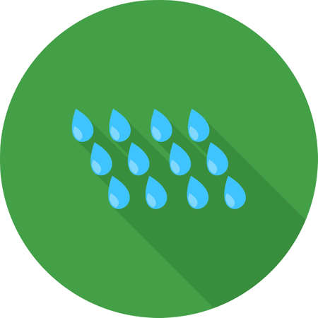 rain window: Rain, window, rainy icon vector image. Can also be used for ecology. Suitable for mobile apps, web apps and print media.