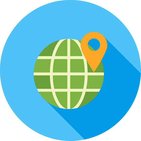 local business: Local, business, search icon vector image. Can also be used for seo and development services. Suitable for use on web apps, mobile apps and print media. Illustration