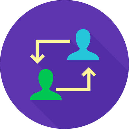 strategy meeting: Consulting, strategy, meeting icon vector image. Can also be used for seo and development services. Suitable for use on web apps, mobile apps and print media.