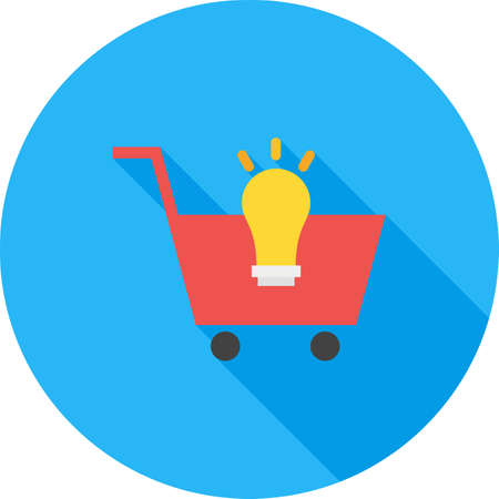 e commerce icon: Web, ecommerce, solution icon vector image. Can also be used for seo and development services. Suitable for use on web apps, mobile apps and print media.