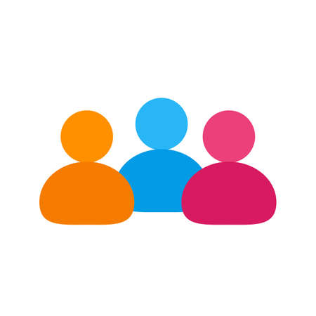 peoples: Team, peoples, users icon vector image.Can also be used for IT and communication. Suitable for web apps, mobile apps and print media.