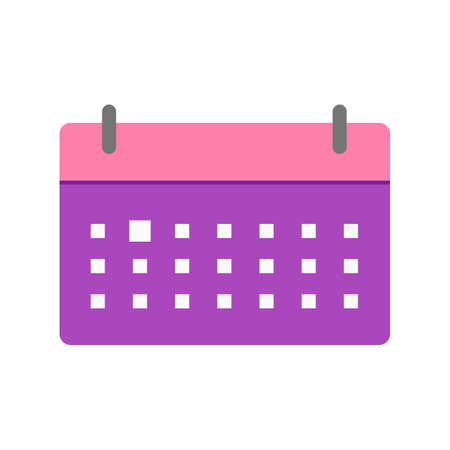 event planner: Schedule, calendar, business icon vector image. Can also be used for business management. Suitable for use on web apps, mobile apps and print media. Illustration