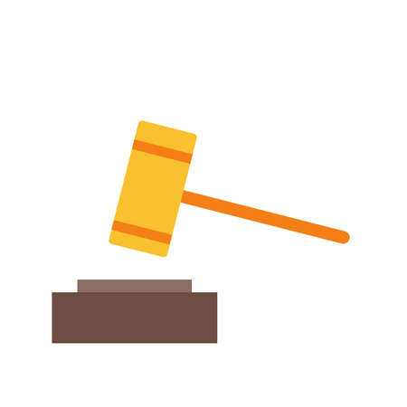 verdict: Law, business, justice icon vector image.Can also be used for business management. Suitable for mobile apps, web apps and print media.