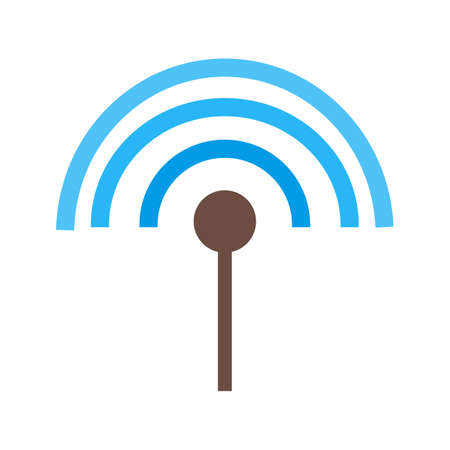 input: Antenna, cable, input icon vector image. Can also be used for material design. Suitable for use on web apps, mobile apps and print media