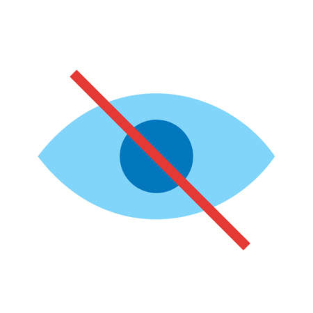 unclear: Visibility, unclear, off icon vector image.Can also be used for material design. Suitable for mobile apps, web apps and print media.