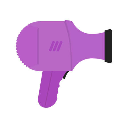 drier: Dryer, hair, blow icon vector image. Can also be used for hotel and restaurant. Suitable for use on web apps, mobile apps and print media. Illustration