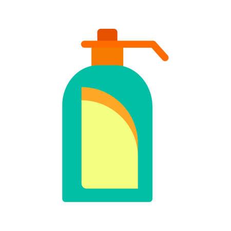 handwash: Jab�n, lavado de manos, icono de la mano del vector image.Can tambi�n se puede utilizar para el hotel y restaurante. Adecuado para aplicaciones m�viles, aplicaciones web y medios impresos. Vectores
