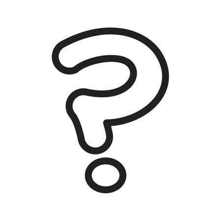query: Question, mark, sign icon vector image. Can also be used for games & entertainment . Suitable for web apps, mobile apps and print media. Illustration