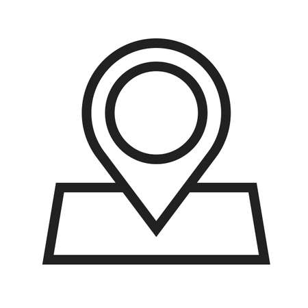marked: Marked, roadmap, route icon vector image.Can also be used for maps & navigation. Suitable for mobile apps, web apps and print media. Illustration
