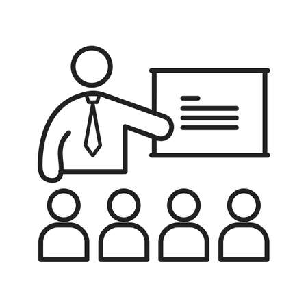 college classroom: College, classroom, lecture icon vector image. Can also be used for humans. Suitable for use on web apps, mobile apps and print media.