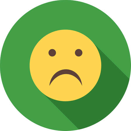 alone sad: Sad, alone, upset icon vector image. Can also be used for emotions and halloween. Suitable for mobile apps, web apps and print media.