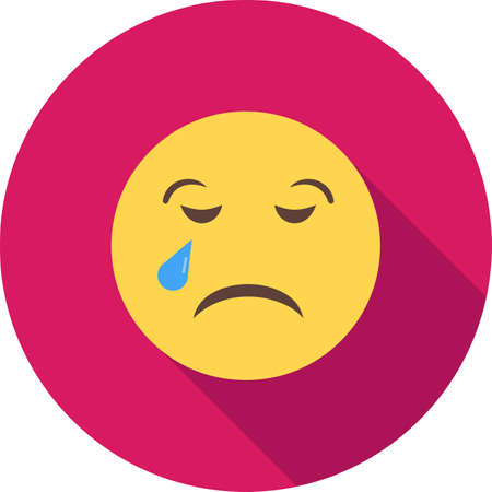 Crying, baby, child icon vector image. Can also be used for emotions and halloween. Suitable for mobile apps, web apps and print media. Illustration