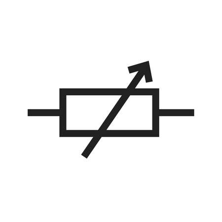electrical engineer: Technology, circuit, electronic icon vector image. Can also be used for electric circuits. Suitable for use on web apps, mobile apps and print media.