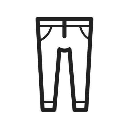 trousers: Trousers, fashion, clothes icon vector image. Can also be used for hipster. Suitable for web apps, mobile apps and print media.