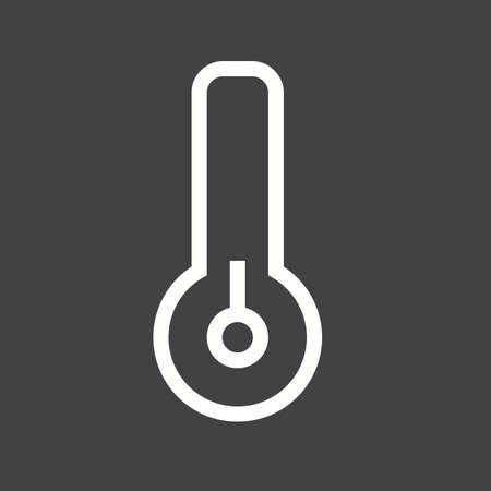 low temperature: Winter, low, temperature icon vector image. Can also be used for winter. Suitable for use on web apps, mobile apps and print media.