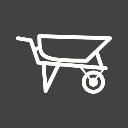 loader: Loader, site, construction icon vector image.Can also be used for tools. Suitable for mobile apps, web apps and print media. Illustration