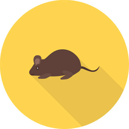 mouse animal: Mouse, animal, rat icon vector image. Can also be used for Animals and Insects. Suitable for mobile apps, web apps and print media.