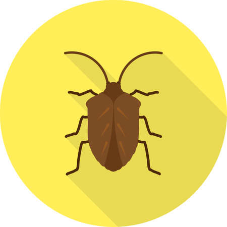 crawler: Bug, crawler, beetle icon vector image. Can also be used for Animals and Insects. Suitable for mobile apps, web apps and print media.