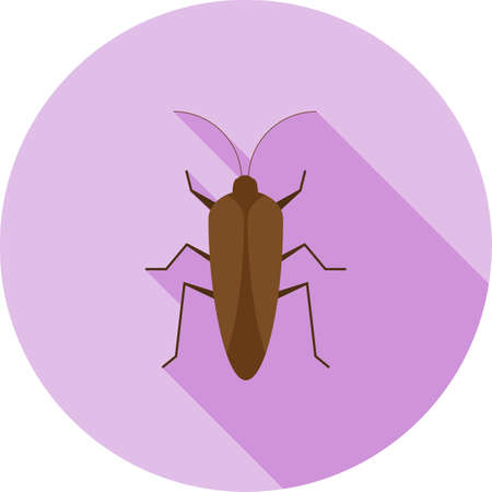 crawler: Bug, crawler, insect icon vector image. Can also be used for Animals and Insects. Suitable for mobile apps, web apps and print media. Illustration