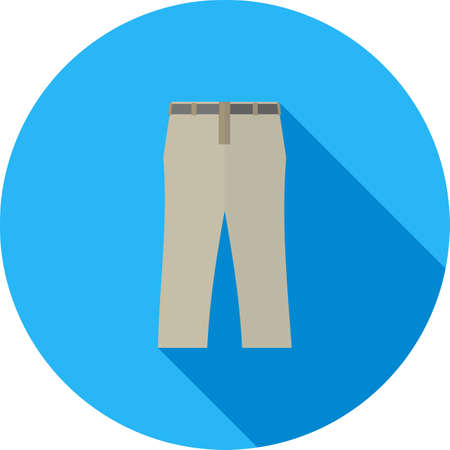 used clothes: Trousers, fashion, clothes icon vector image. Can also be used for clothes and fashion. Suitable for web apps, mobile apps and print media.