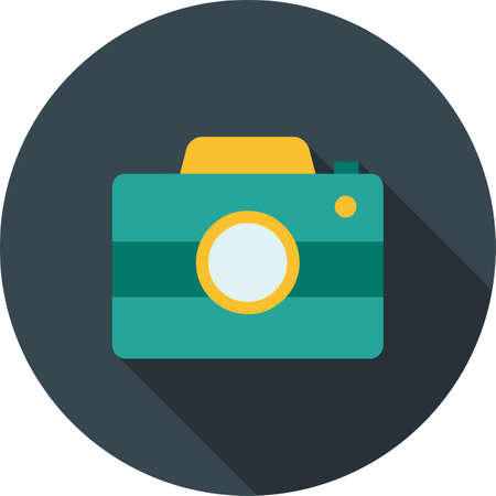 snaps: Camera, picture, image icon vector image. Can also be used for summer, recreation and fun. Suitable for use on mobile apps, web apps and print media. Illustration