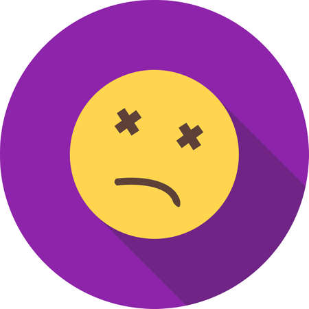 dead body: Dead, body, death icon vector image. Can also be used for emotions and halloween. Suitable for mobile apps, web apps and print media.