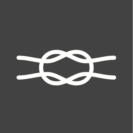 rope vector: Rope, object, cord icon vector image. Can also be used for sea. Suitable for use on web apps, mobile apps and print media.
