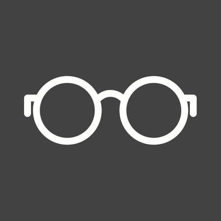 eye glass frame: Glasses, eye, frame icon vector image.Can also be used for hipster. Suitable for mobile apps, web apps and print media.