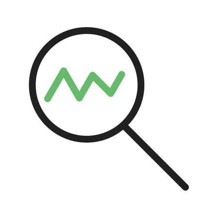 Statistics, analysis, chart icon vector image. Can also be used for marketing. Suitable for use on web apps, mobile apps and print media. Illustration