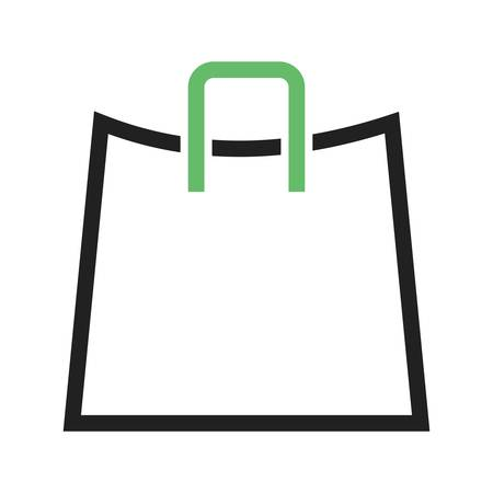 gift bags: Store, shopping, bag  icon vector image. Can also be used for marketing. Suitable for use on web apps, mobile apps and print media. Illustration