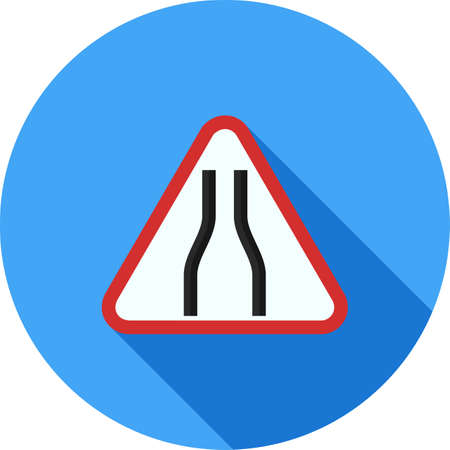 Sign, road, traffic icon vector image. Can also be used for traffic signs. Suitable for web apps, mobile apps and print media.