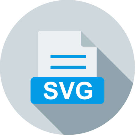 SVG, file, symbol icon vector image. Can also be used for file format, design and storage. Suitable for mobile apps, web apps and print media. Stock Vector - 52060503