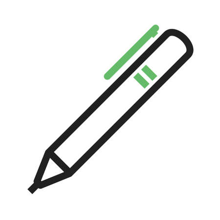 highlight: Markers, pen, highlight icon vector image.Can also be used for stationery. Suitable for mobile apps, web apps and print media.