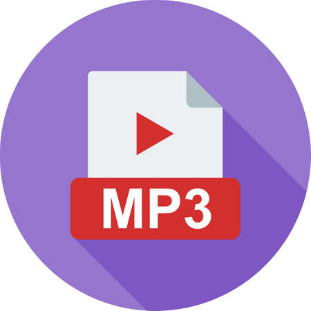 portable player: MP3, player, ipod icon vector image. Can also be used for file format, design and storage. Suitable for mobile apps, web apps and print media.
