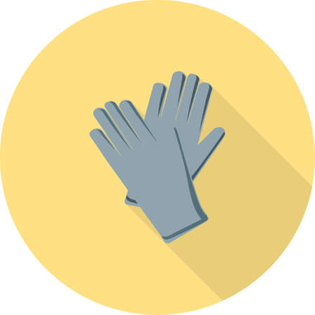 deisgn: Gloves, garden, gardening icon vector image.Can also be used for gardening. Suitable for mobile apps, web apps and print media.