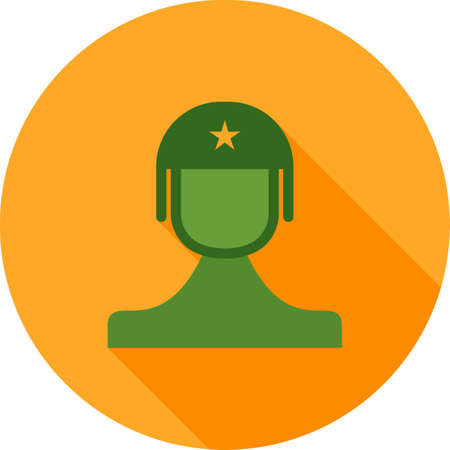 commando: Soldier, toy, commando icon vector image.Can also be used for toy and games. Suitable for mobile apps, web apps and print media.