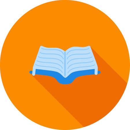 law library: Book, open, library icon vector image.Can also be used for law and order. Suitable for mobile apps, web apps and print media.