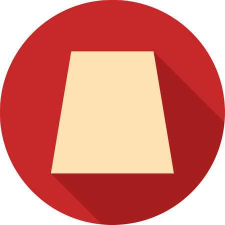 trapezoid: Shapes, geometric, book icon vector image. Can also be used for shapes and geometry. Suitable for use on web apps, mobile apps and print media.