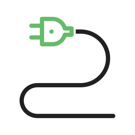 wiring: Cable, wires, wiring icon vector image. Can also be used for tools. Suitable for use on web apps, mobile apps and print media.