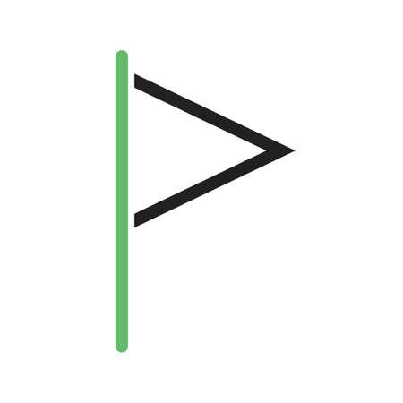 bandera carreras: Bandera, la raza, el icono de carreras vector de imagen. También se puede utilizar para los mapas y la navegación. Adecuado para aplicaciones móviles, aplicaciones web y medios impresos.