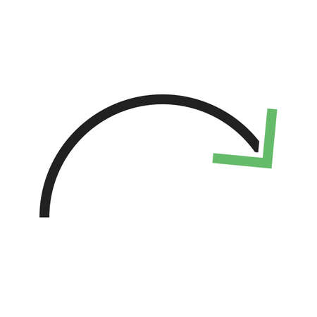 revise: Reset, restart, redo icon vector image.Can also be used for text editing. Suitable for mobile apps, web apps and print media. Illustration