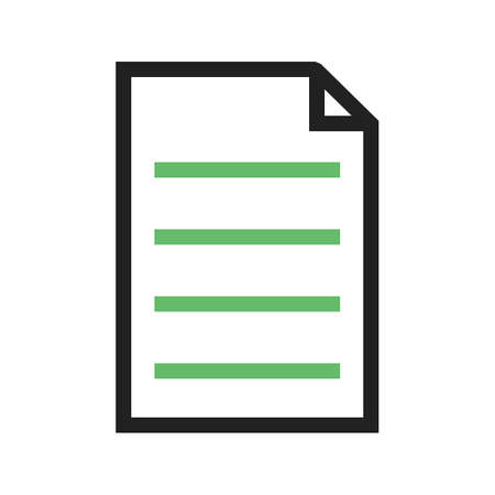 filing: File, attach, pdf icon vector image.Can also be used for text editing. Suitable for mobile apps, web apps and print media. Illustration