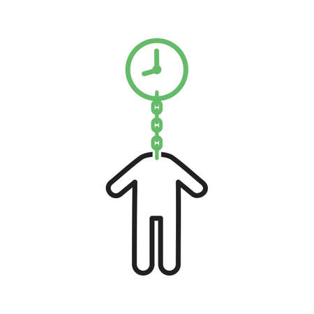timeout: Time, money, timeout icon vector image. Can also be used for humans. Suitable for use on web apps, mobile apps and print media.