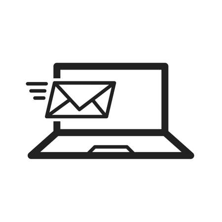 Email, mail, message icon vector image. Can also be used for schooling. Suitable for use on web apps, mobile apps and print media. Illustration