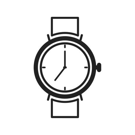 wrists: Watch, smart, time icon vector image. Can also be used for hipster. Suitable for use on web apps, mobile apps and print media. Illustration