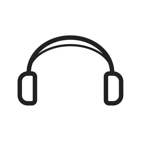 earbuds: Headphones, audio, earphones icon vector image. Can also be used for hipster. Suitable for use on web apps, mobile apps and print media.
