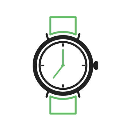 wrist hands: Watch, smart, time icon vector image. Can also be used for hipster. Suitable for use on web apps, mobile apps and print media. Illustration