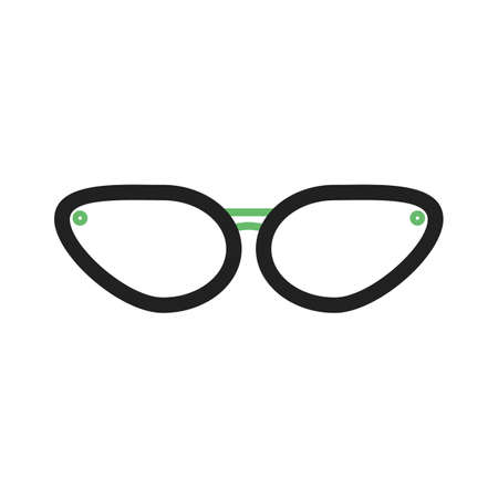 glasses eye: Glasses, eye, sun icon vector image.Can also be used for hipster. Suitable for mobile apps, web apps and print media.