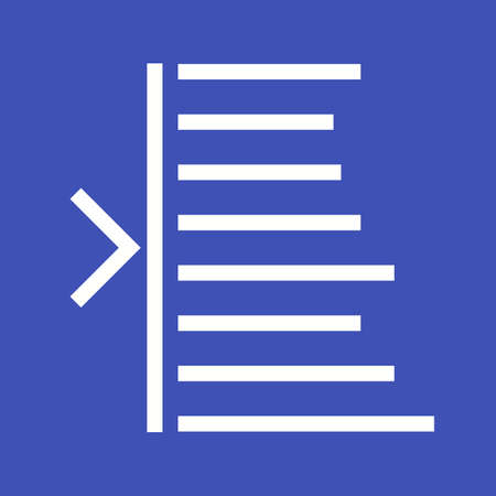 formatting: Text, edit, left icon vector image. Can also be used for text editing. Suitable for use on web apps, mobile apps and print media.